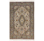 Link to 4' 6 x 7' Kashan Persian Rug