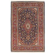Link to 4' 7 x 7' Kashan Persian Rug