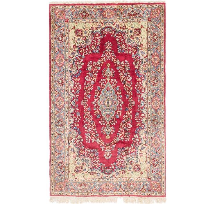 4' 9 x 8' Kerman Persian Rug