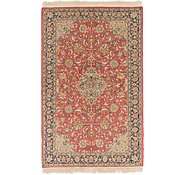 Link to 4' 5 x 7' Sarough Persian Rug