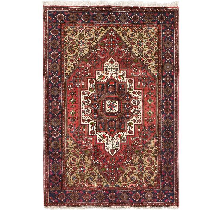 3' 2 x 4' 9 Bidjar Persian Rug