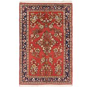 Link to 3' 5 x 5' Sarough Persian Rug