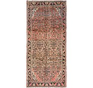 Link to 3' 9 x 8' Hossainabad Persian Runner Rug