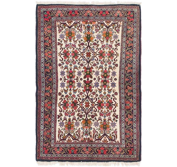 3' 5 x 5' 4 Bidjar Persian Rug