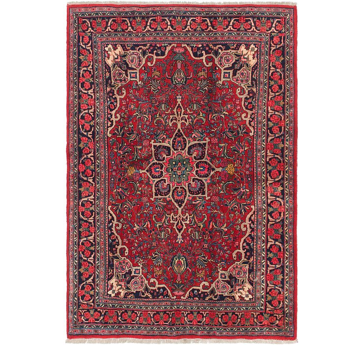 140cm x 198cm Bidjar Persian Rug