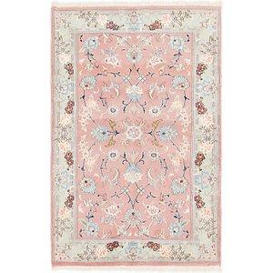 3' x 4' 9 Tabriz Persian Rug