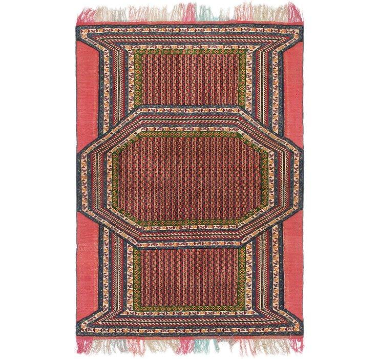 3' 10 x 5' 7 Shirvan Persian Rug