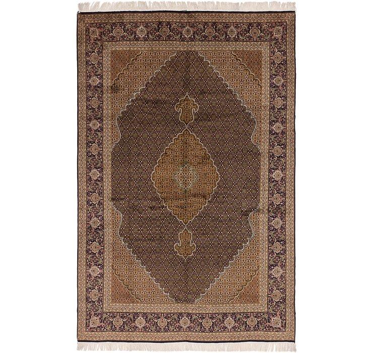 6' 8 x 9' 10 Tabriz Persian Rug