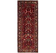 Link to 117cm x 297cm Hamedan Persian Runner Rug