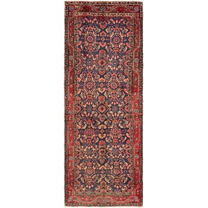 Link to 112cm x 315cm Mahal Persian Runner Rug item page