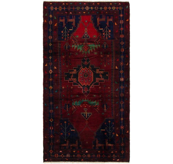 5' 5 x 10' 3 Sirjan Persian Runner Rug