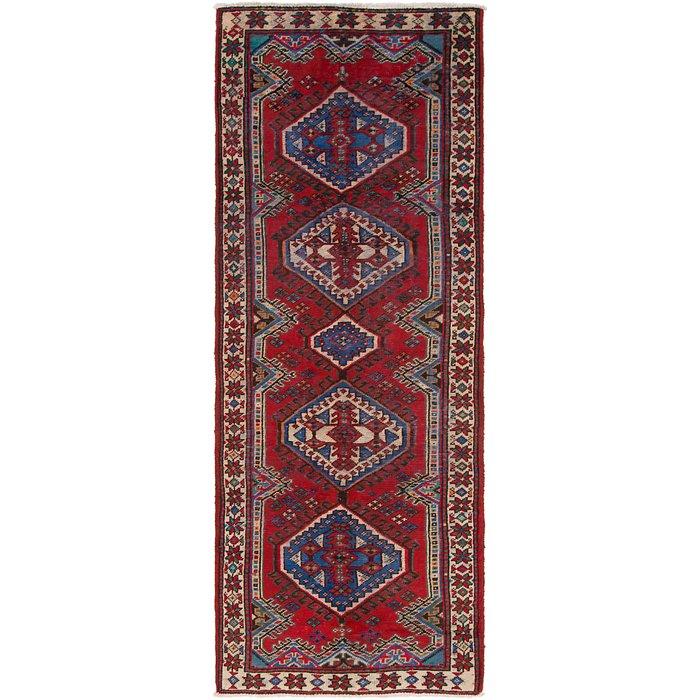 3' 4 x 9' 5 Shiraz Persian Runner Rug