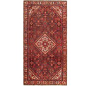 Link to 145cm x 292cm Hossainabad Persian Runner Rug