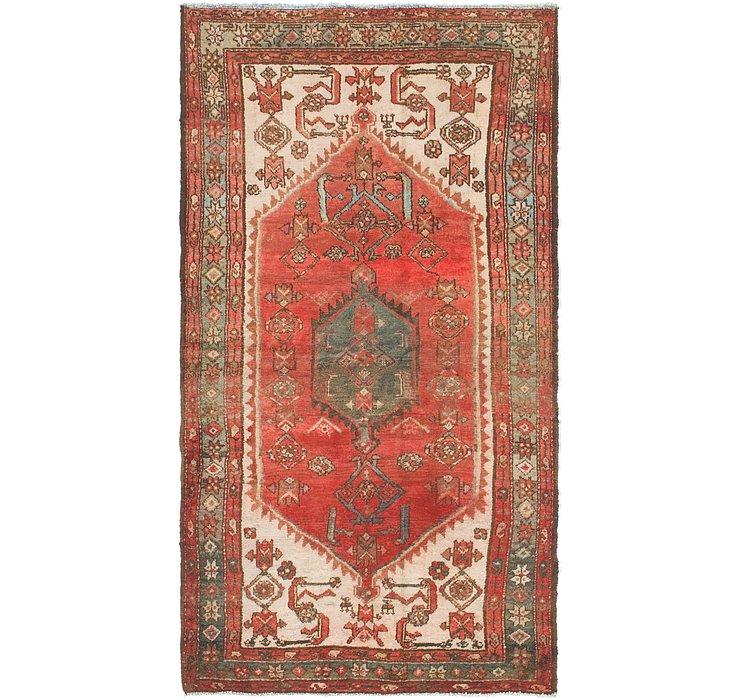 3' 8 x 6' 10 Hamedan Persian Rug