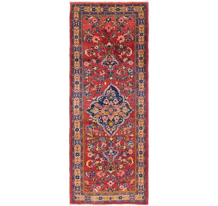 HandKnotted 4' x 10' 5 Mahal Persian Runner Rug