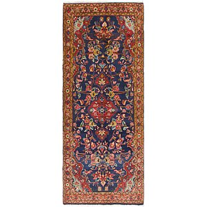 Link to 112cm x 300cm Mahal Persian Runner Rug item page