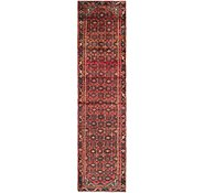 Link to 3' 10 x 12' Hossainabad Persian Runner Rug