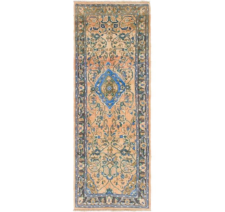 3' 5 x 10' Mahal Persian Runner Rug