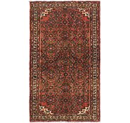 Link to 3' 7 x 6' Hossainabad Persian Rug