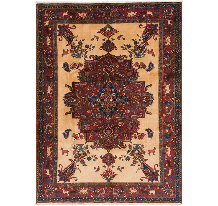 7' x 9' 7 Bakhtiar Persian Rug