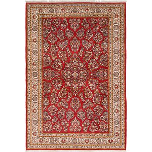 8' 2 x 11' 9 Sarough Persian Rug