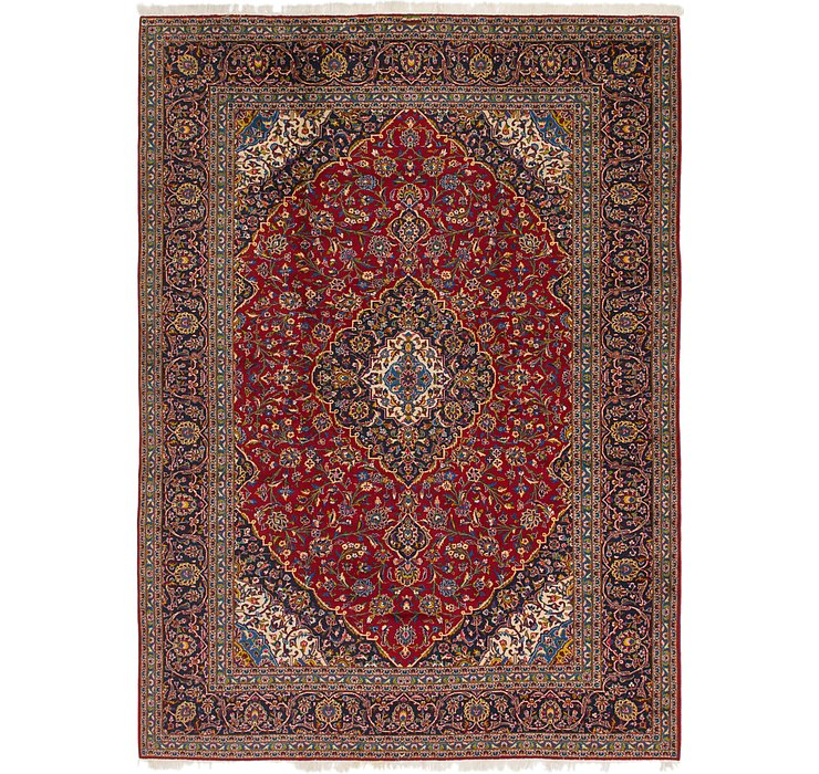 297cm x 395cm Kashan Persian Rug