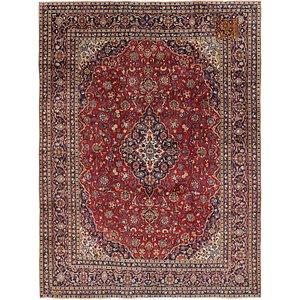 9' 4 x 12' 4 Kashan Persian Rug
