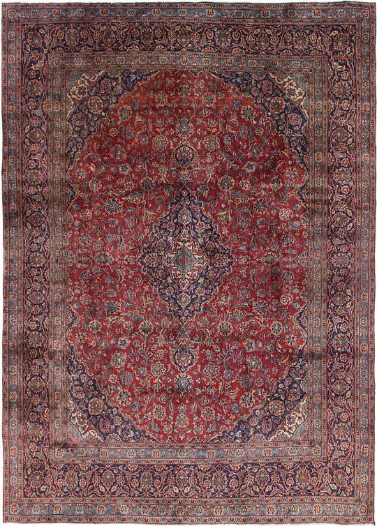 Red 9 X 12 5 Mashad Persian Rug Persian Rugs Esalerugs