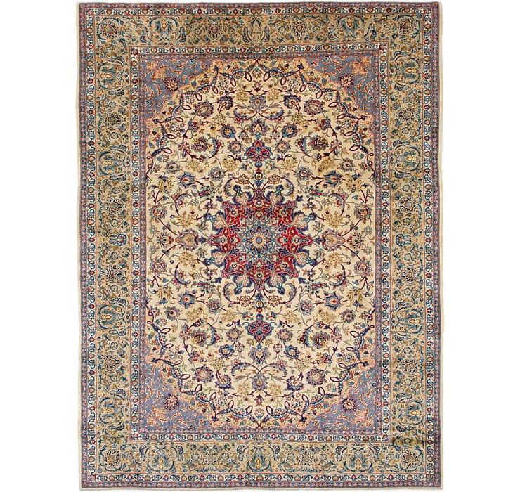 10' 3 x 13' 7 Isfahan Persian Rug