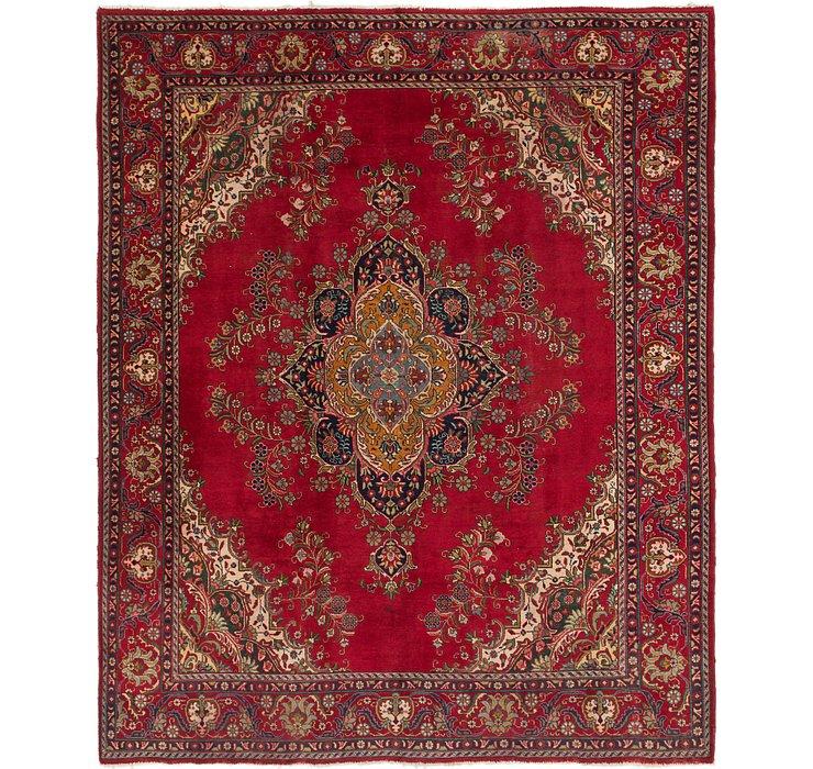 9' 10 x 12' 2 Tabriz Persian Rug