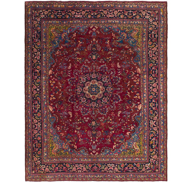 9' 10 x 12' 6 Mashad Persian Rug