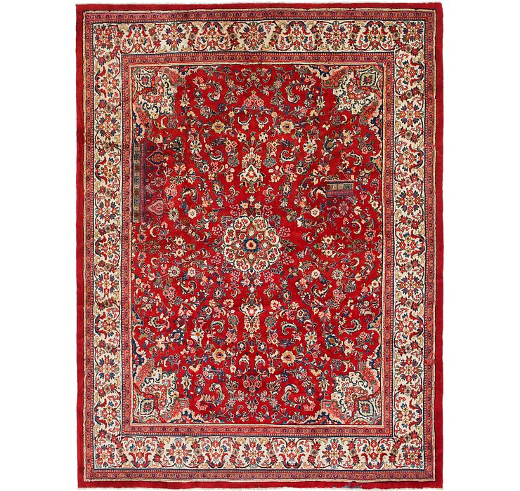 10' 5 x 14' Sarough Persian Rug