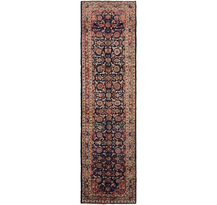 3' 9 x 13' 9 Mahal Persian Runner Rug