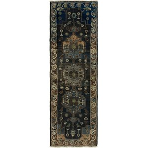 Link to 110cm x 305cm Saveh Persian Runner Rug item page