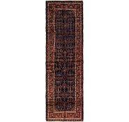 Link to 3' 7 x 10' 7 Hamedan Persian Runner Rug