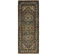 Link to 115cm x 290cm Hossainabad Persian Runner Rug