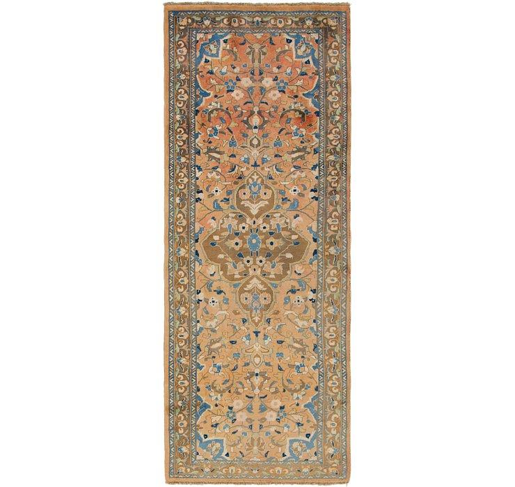 3' 9 x 10' Mahal Persian Runner Rug