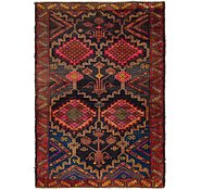 Link to 5' x 7' 4 Shiraz Persian Rug