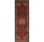 Link to 110cm x 345cm Hossainabad Persian Runner Rug