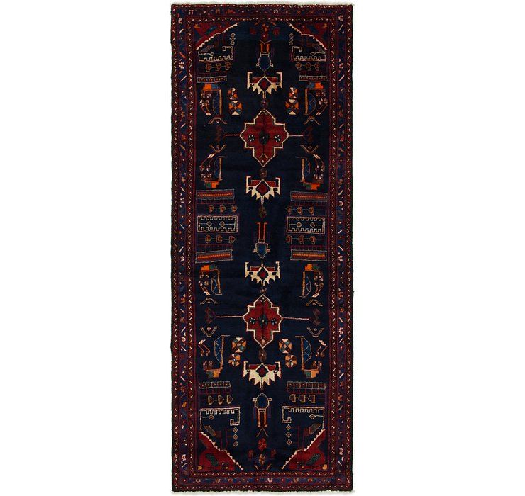 3' 10 x 9' 9 Saveh Persian Runner Rug