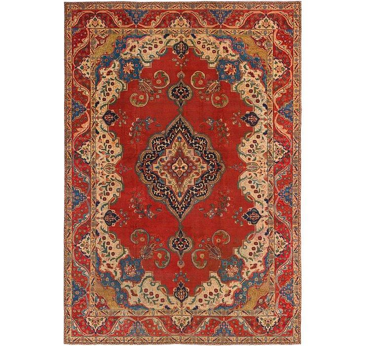 9' 4 x 13' 6 Tabriz Persian Rug