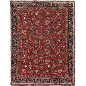 9' 2 x 12' 6 Tabriz Persian Rug