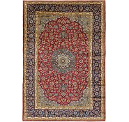 Link to 287cm x 427cm Isfahan Persian Rug