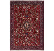 Link to 8' 2 x 12' Isfahan Persian Rug