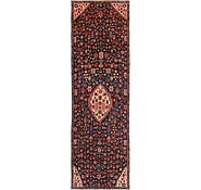 Link to 3' 9 x 11' 10 Hamedan Persian Runner Rug