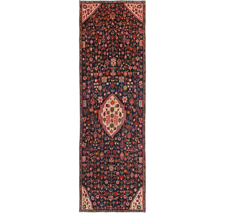 3' 9 x 11' 10 Hamedan Persian Runner ...