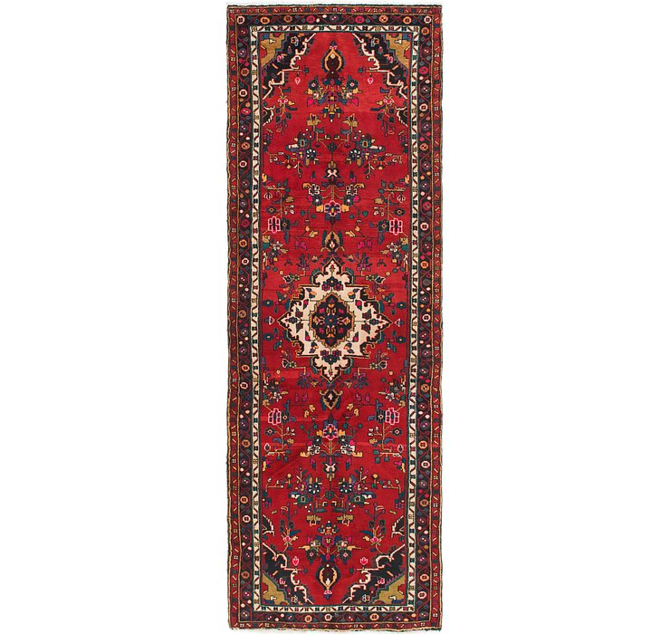 3' 8 x 10' 9 Hamedan Persian Runner ...