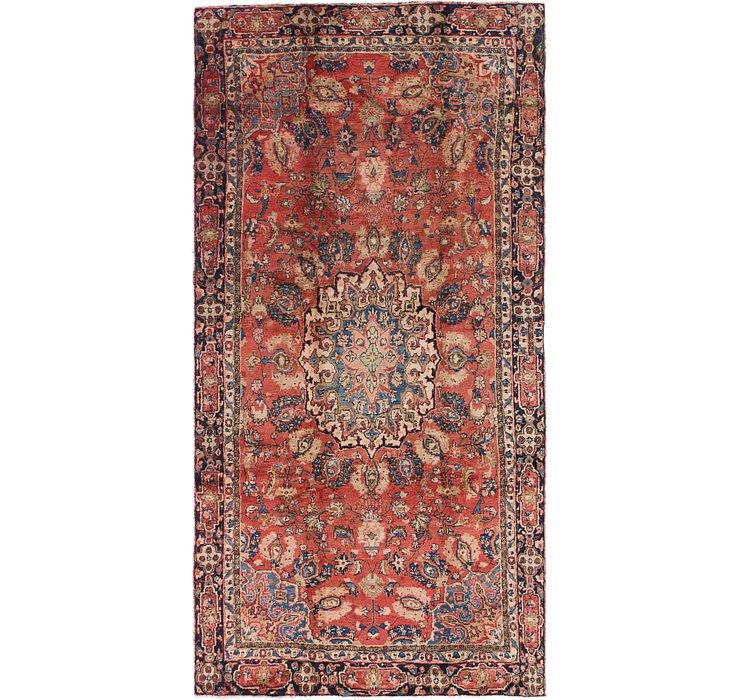 6' x 11' Hamedan Persian Rug