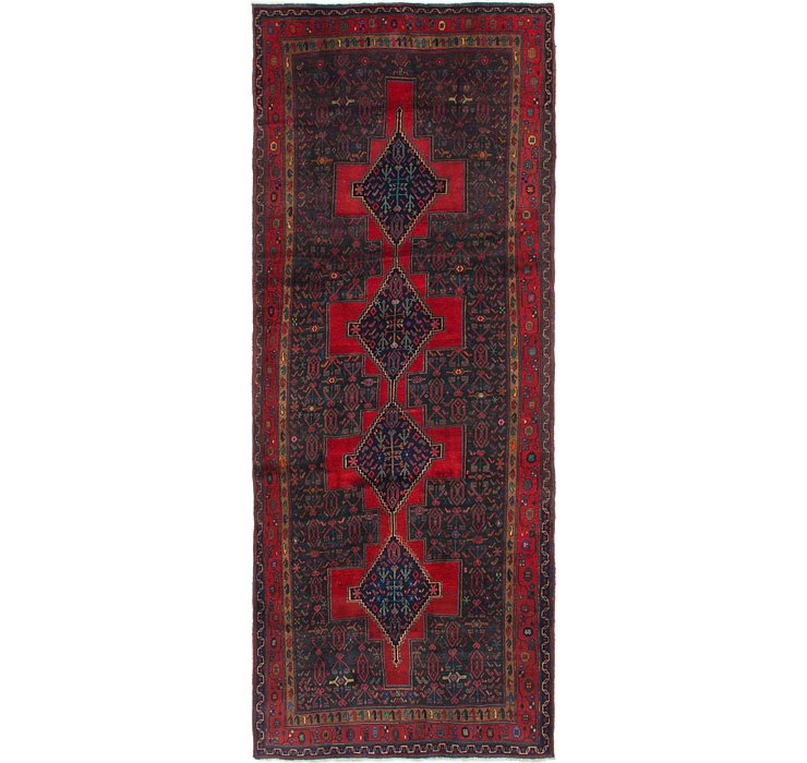 4' 9 x 11' 6 Sanandaj Persian Runner...