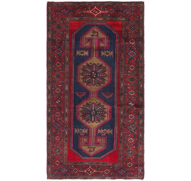 132cm x 245cm Zanjan Persian Runner Rug